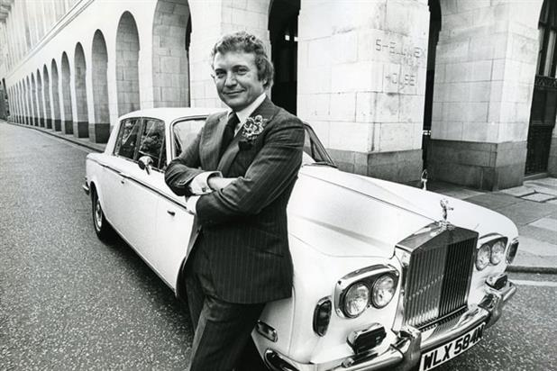 Peter Marsh was synonymous with his white Rolls-Royce