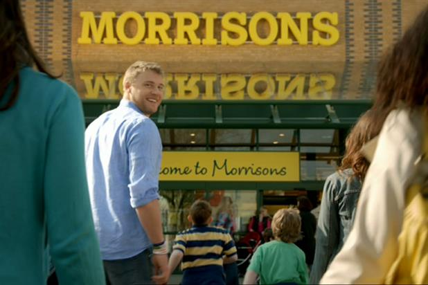 Flintoff stars in the Morrisons campaign