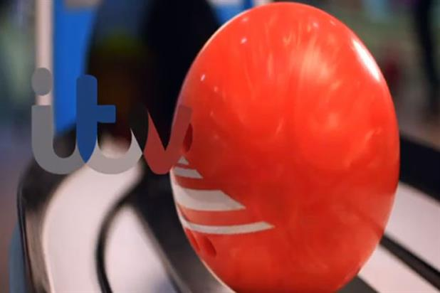 ITV: new bowling ball ident