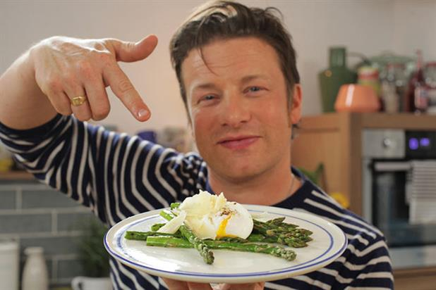 Jamie Oliver: Food Tube secures LV= deal
