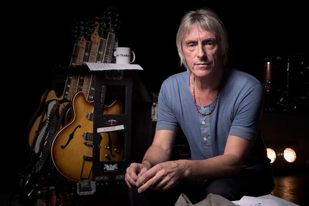 In session: Paul Weller featured for Volkswagen at Abbey Road