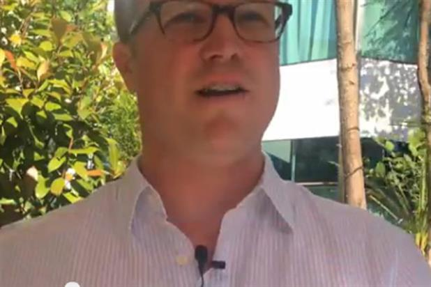 Patrick Harris: Facebook's director of global agency development speaking at Cannes