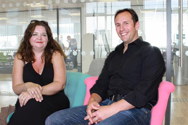 Sharon Curr and Toby Richards: join Publicis Chemistry