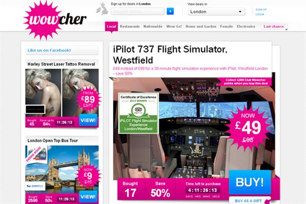 Wowcher: kicks off agency search