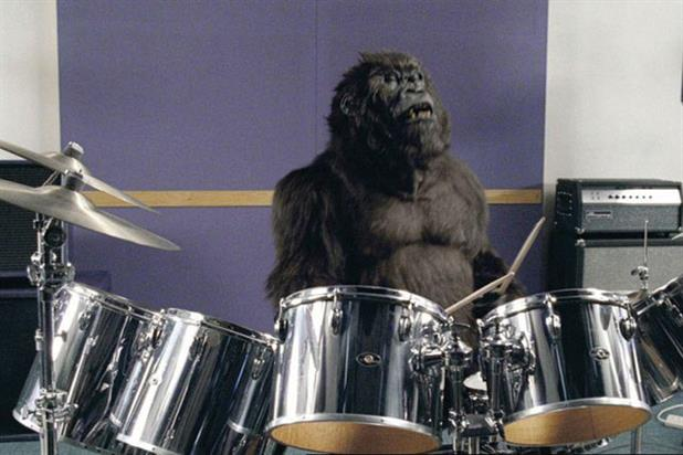 Gorilla: Fallon took the 2008 Film Grand Prix with this ad for Cadbury