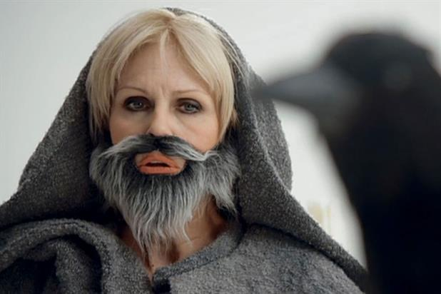 Joanna Lumley: impersonates characters from Game of Thrones in Sky ad campaign