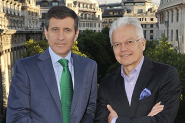 JWT: Gustavo Martinez, left, and Bob Jeffrey