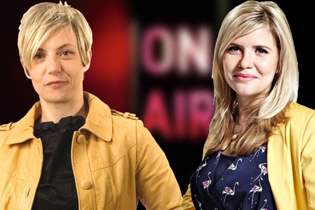 Women on radio: Miranda Sawyer (left) and Emma Barnett