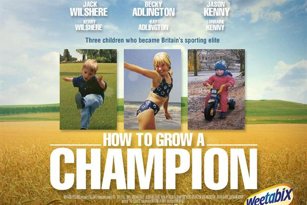 Weetabix: sports stars feature in latest campaign