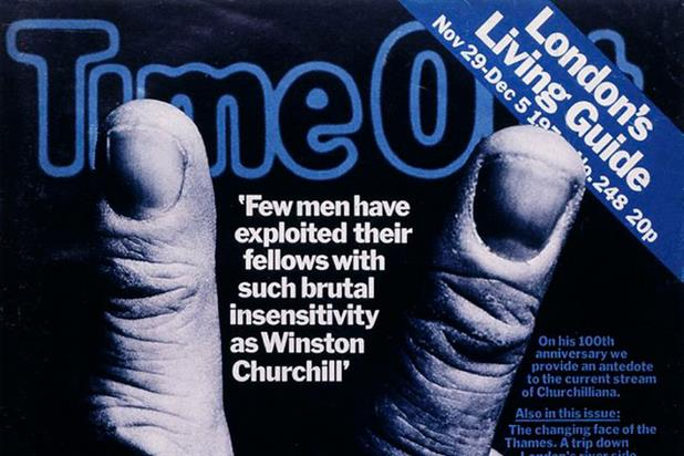 Time Out: 1974's Winston Churchill cover