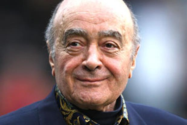 Mohamed Al Fayed: began his business career by founding a shpping company