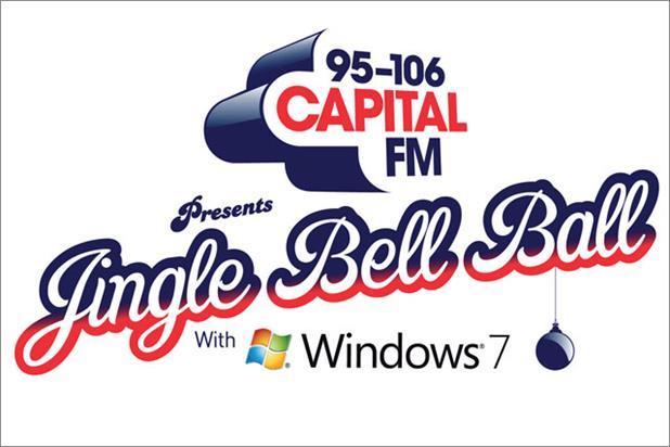 Capital Radio Jingle Bell Ball: renews Windows 7 sponsorship
