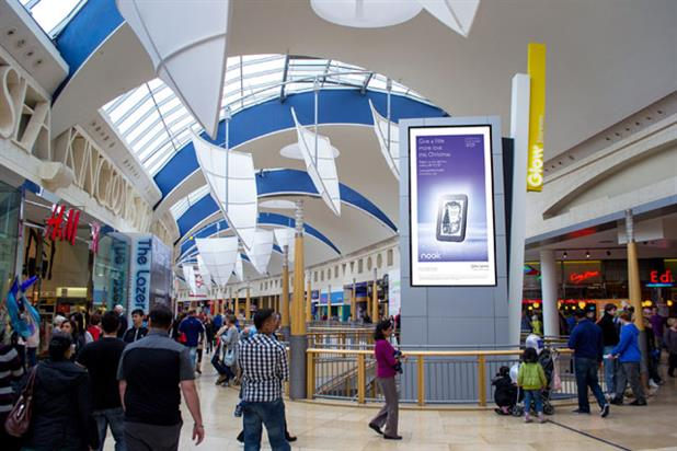 JCDecaux: launches M-Vision screens in Bluewater at Greenhithe