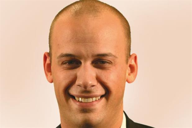 Jamie Walters: promoted to the executive board at Metro