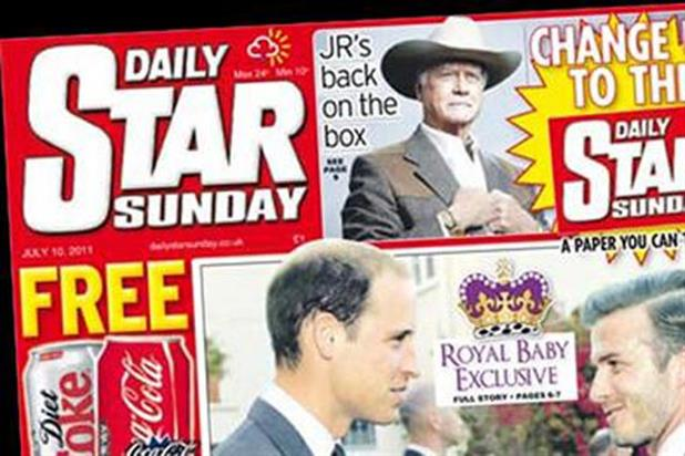 Daily Star Sunday: more than tripled its circulation last weekend