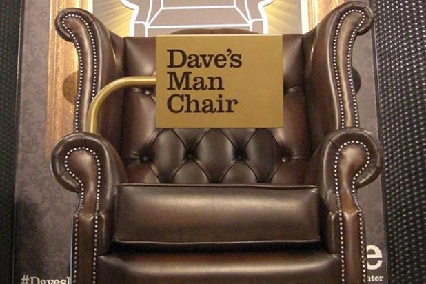 Dave: installs 'man chairs' in Burton stores