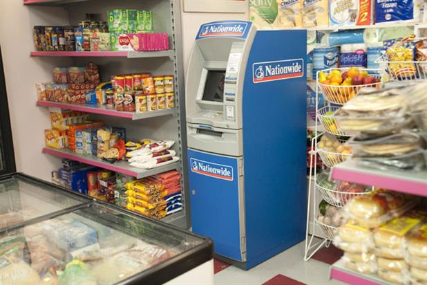 Nationwide: places cash machine in 'Coronation Street' corner shop