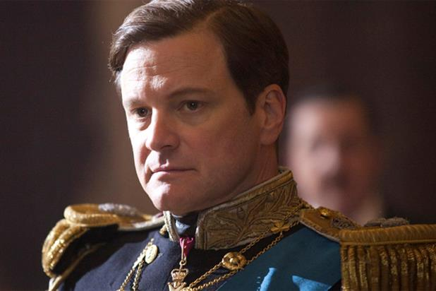 Colin Firth: wins Best Actor for The King's Speech