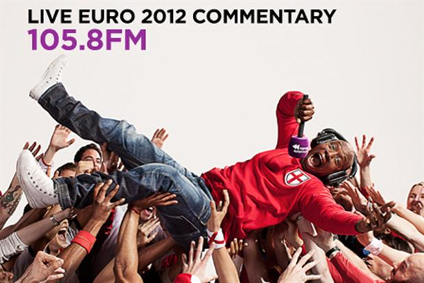 Absolute Radio: unveils Euro 2012 campaign