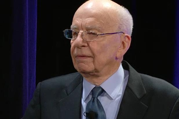 Rupert Murdoch: chairman and chief executive of News Corp