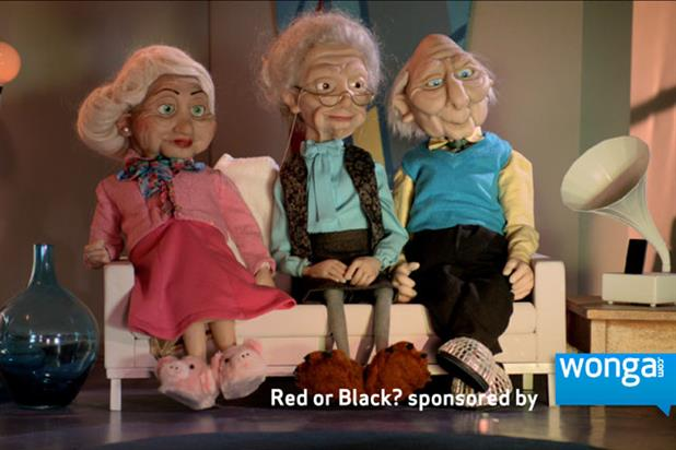 Wonga: to sponsor second series of Red or Black? on ITV