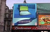 Samsung's Picadilly Circus slot