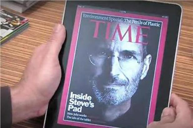 IPad: majority of business users were interested in reading magazines on their tablet