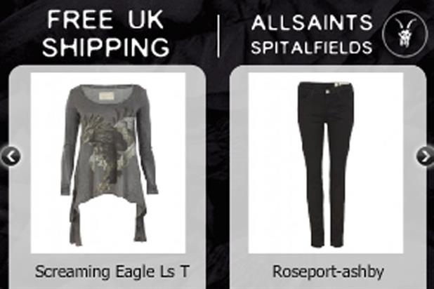 All Saints: Struq debuts opt-out online ads
