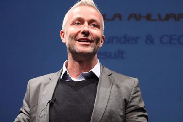 Ola Ahlvarsson: chief executive, Result