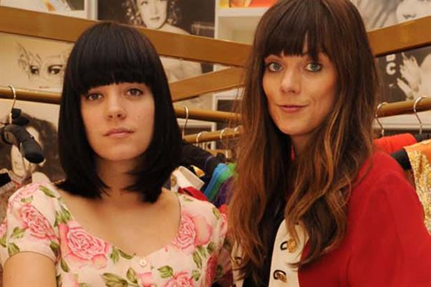 Lily Allen and her sister Sarah: C4 show charts their foray into fashion