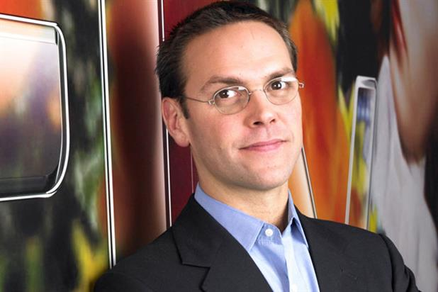 James Murdoch: resigns as News International executive chairman