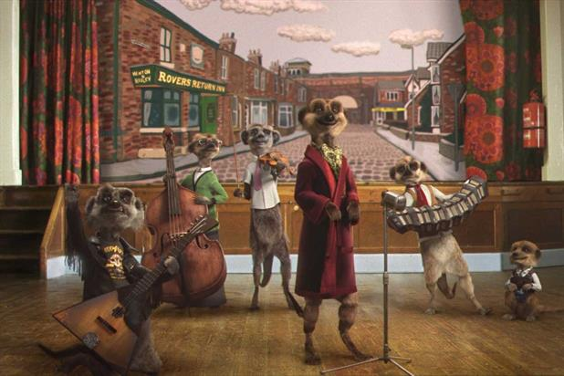 Comparethemarket.com ''Coronation Street idents'' by VCCP
