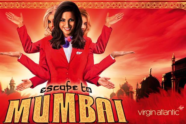 Virgin Atlantic 'Escape To Mumbai' by RKCR/Y&R