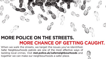 Metropolitan Police 'safer' by AMV BBDO