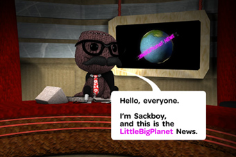 Sony 'littlebigplanet news' by Agency Republic