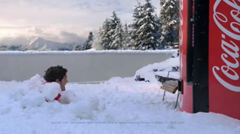 Coke 'snowball' by Wieden and Kennedy