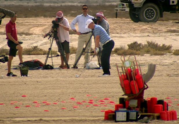 PGA European Tour 'clay pigeon golf shot' by Saatchi & Saatchi