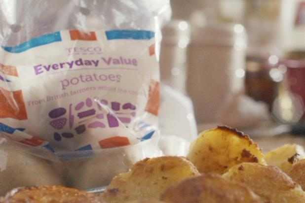 Tesco 'everyday value' by The Red Brick Road