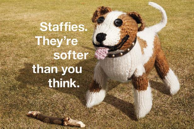 Battersea Dogs & Cats Home 'Staffies' by Meteorite