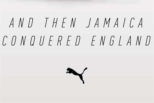 Puma 'and then Jamaica conquered England' by Droga5