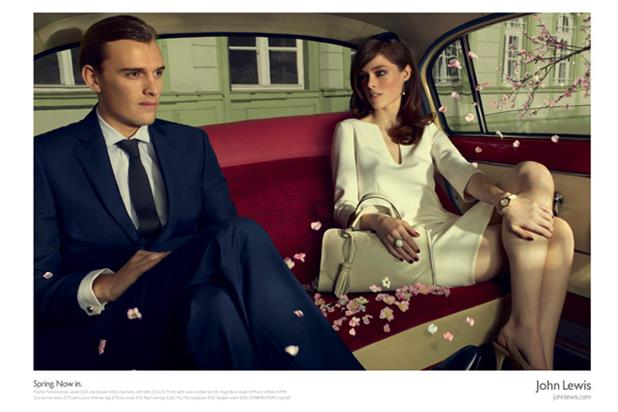 John Lewis 'spring' by Adam & Eve London