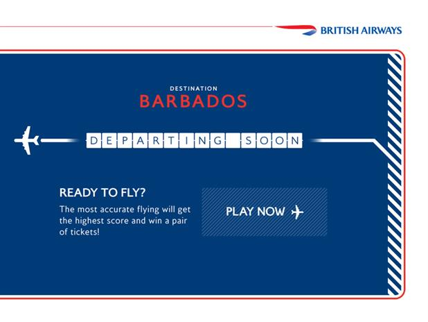 British Airways 'great Gatwick ticket giveaway' by Bartle Bogle Hegarty