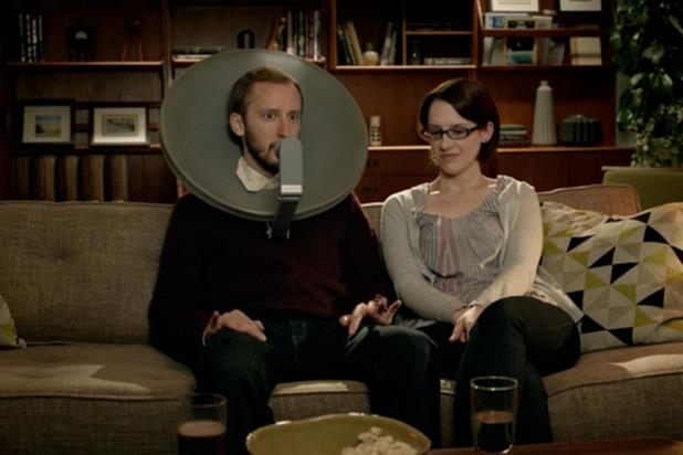 Comcast ' dish head' by Goodby, Silverstein & Partners