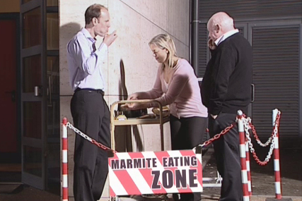 Marmite 'hate party' by DDB UK