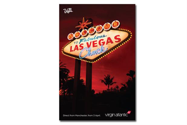 Virgin Atlantic 'Las Vegas' by RKCR/Y&R