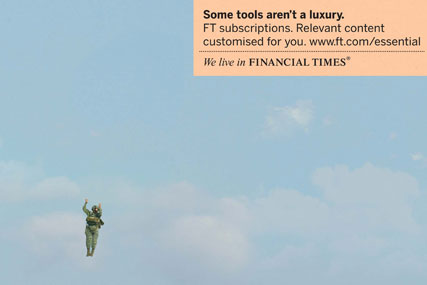 Financial Times 'essential' by DDB UK