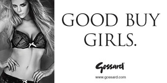 Gossard 'superboost' by Pure Media