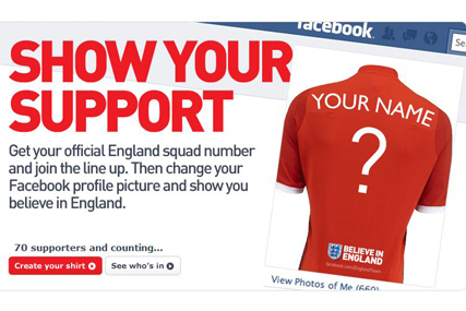 The Football Association 'believe in England' by Dare