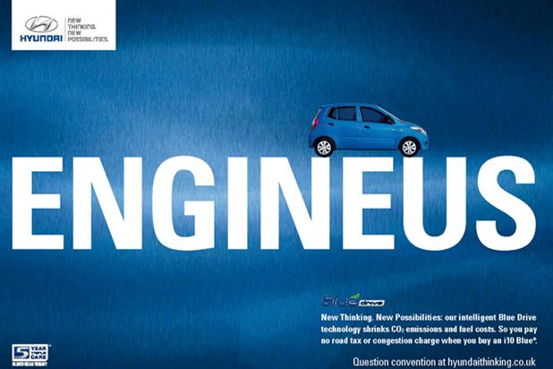 Hyundai 'new thinking' by M&C Saatchi