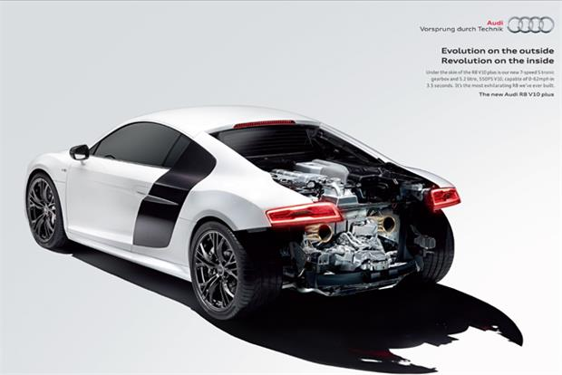Audi: ad allows readers to access content through Blippar app
